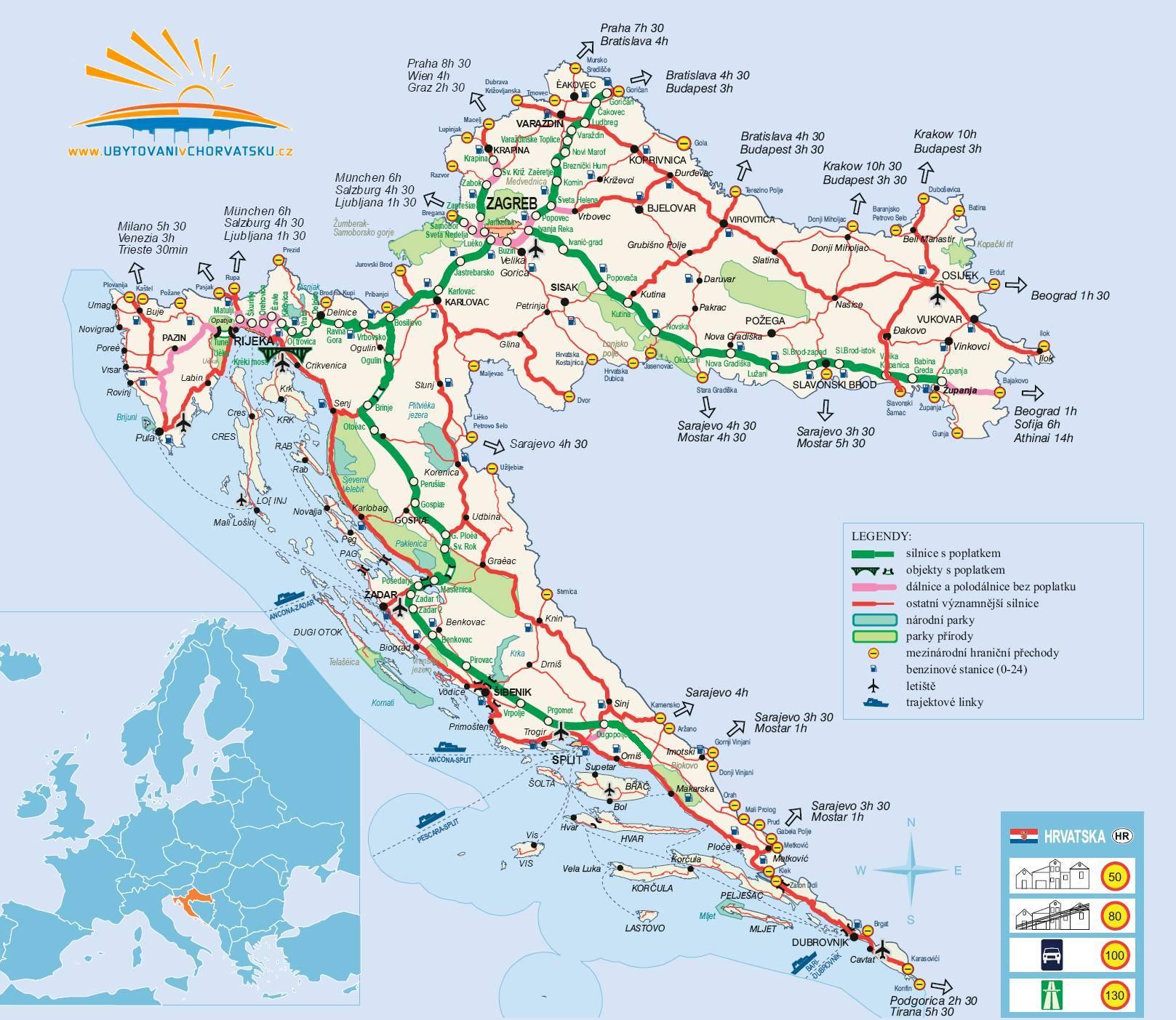 Cartina Stradale Baska Croazia.Croazia Last Minute Alloggio In Croazia All Ultimo Minuto